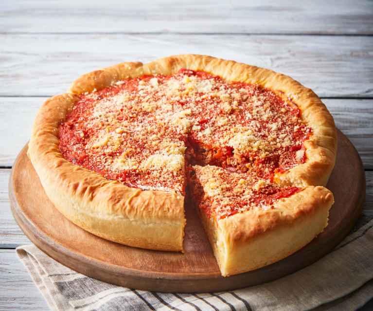 Receita de Pizza de Frigideira de Tomate