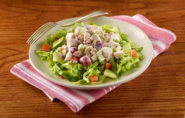 Receita de Salada de Frango Light