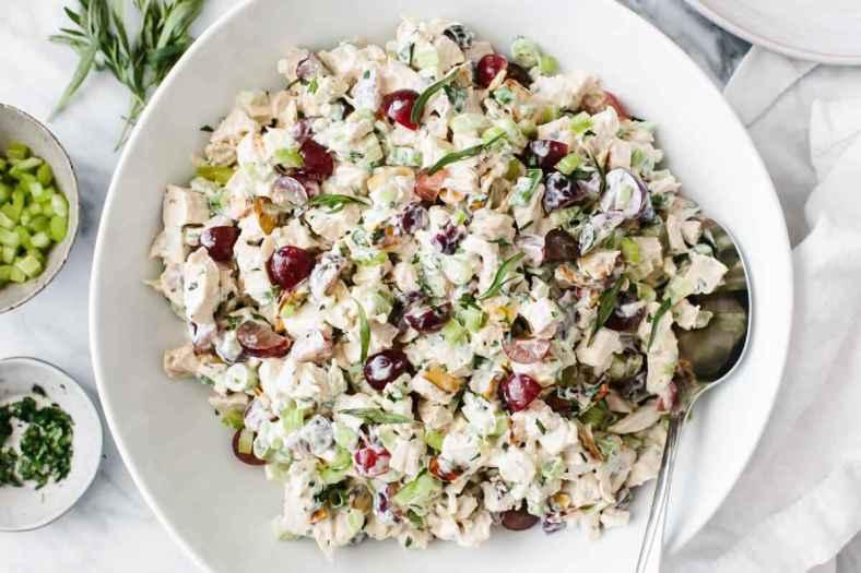 Receita de Salada de Frango com Maionese