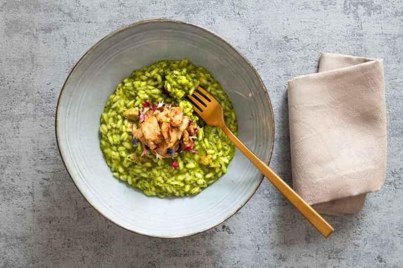 Receita de arroz com Brócolis Diferente