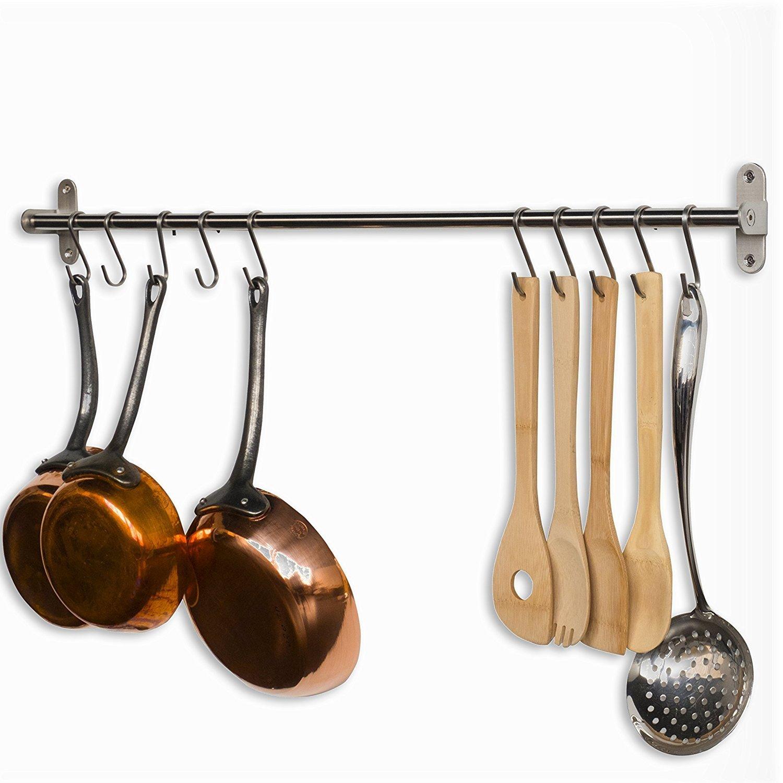 Kitchen S Hooks Pots And Pans