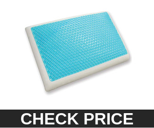 Classic Brands Reversible Cooling Gel and Memory Foam Pillow