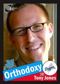 Apocryphal Tony Jones card
