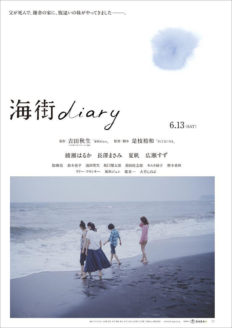 Un cartel de «Umimachi diary».