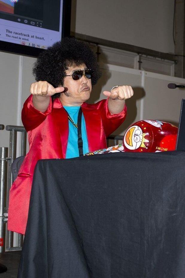 Nabeshin en su encuentro con los fans en el Salón del Manga de Getxo