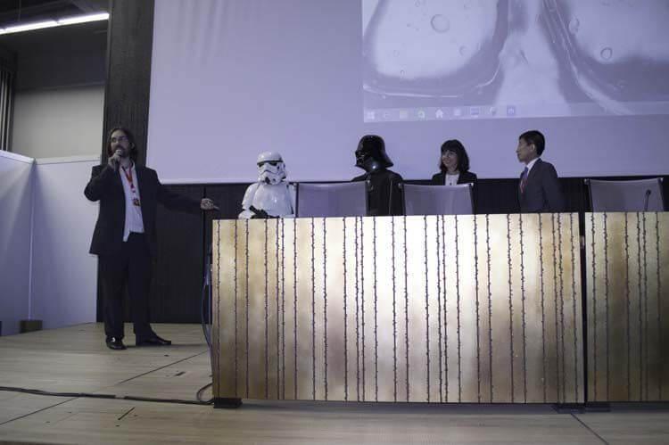 Presentación  institucional del Salón del Manga de Bilbao