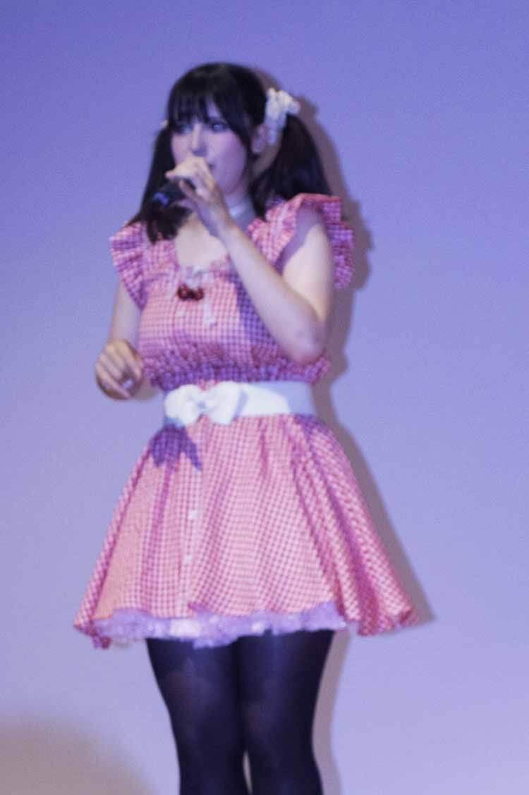 """Marisa Galiana, """"Ruki-chan"""", en concierto"""
