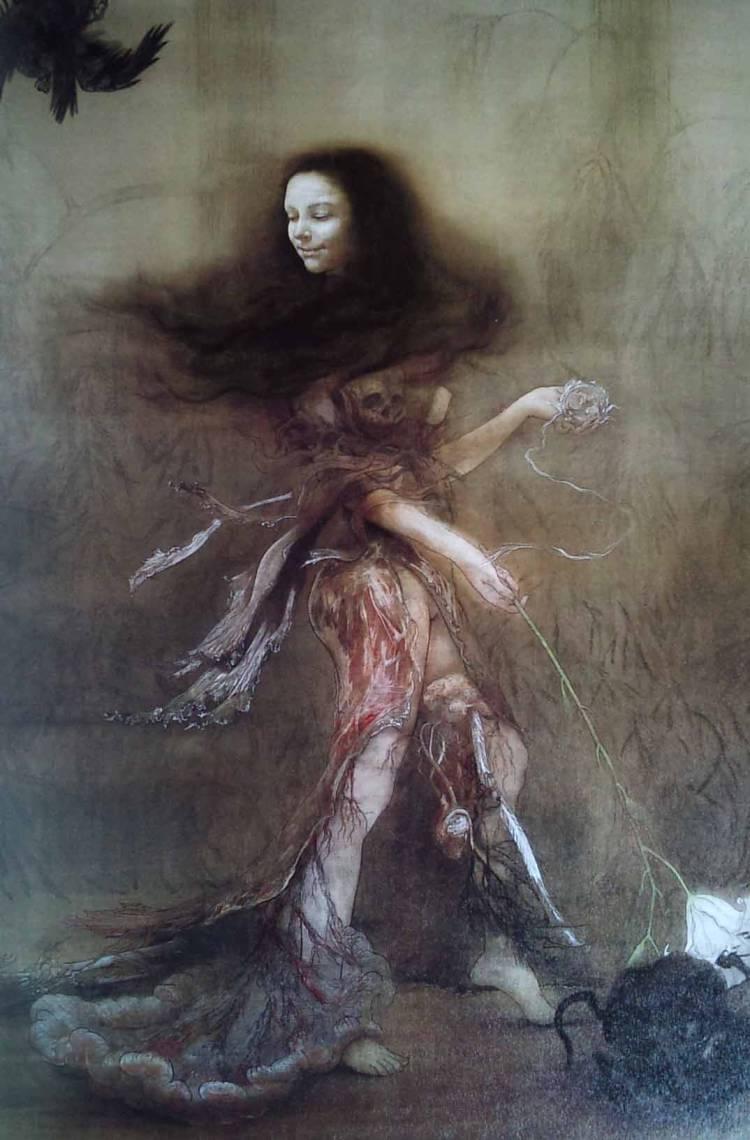 陰刻された四肢の祭壇©FuyukoMATSUI 図版協力:株式会社エディシオン・トレヴィル