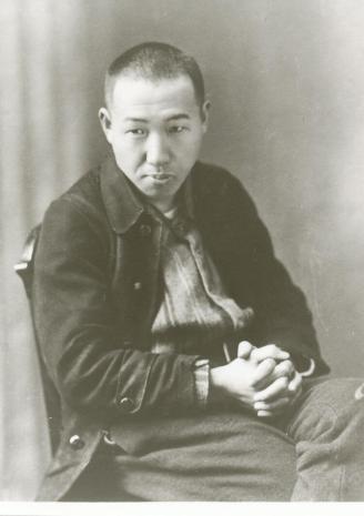 Retrato de Miyazawa Kenji.