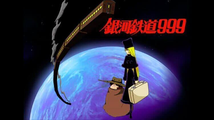 El protagonista de «Galaxy Express 999» viaja por el espacio obtener un cuerpo inmortal.