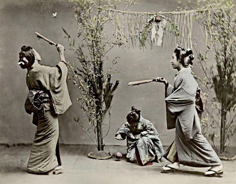 Año nuevo japonés - Hanetsuki