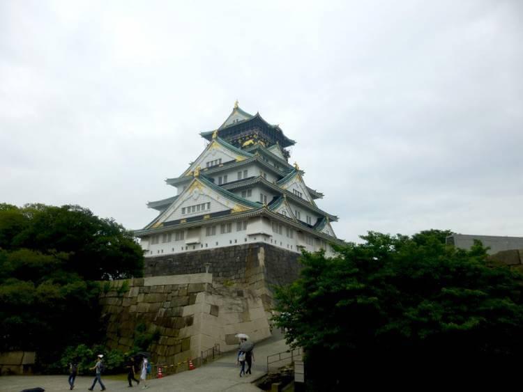 Japón en el anime - Castillo de Osaka - foto tomada por Kevn