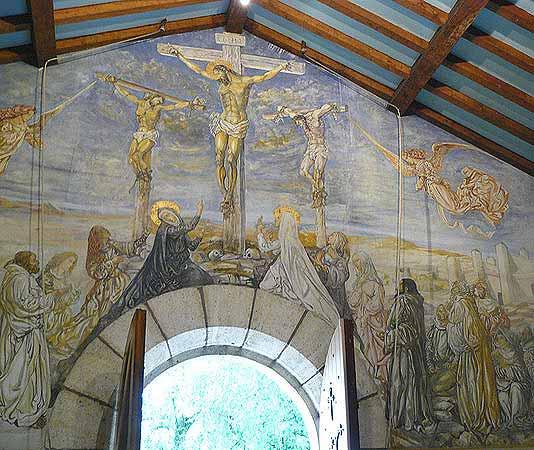 Chapelle Fujita en Reims, Detalle