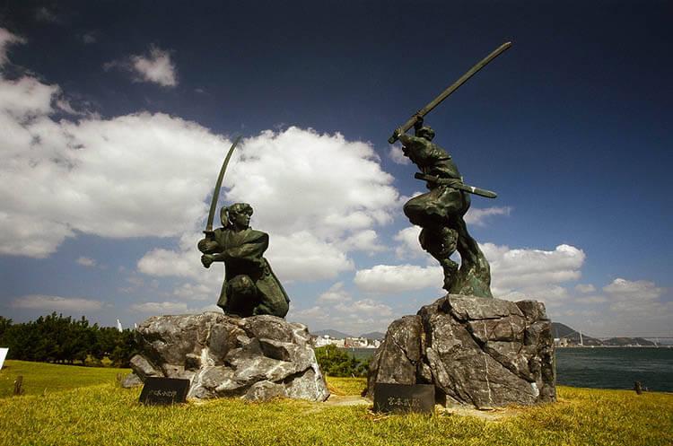Kojirō Sasaki contra Musashi Miyamoto