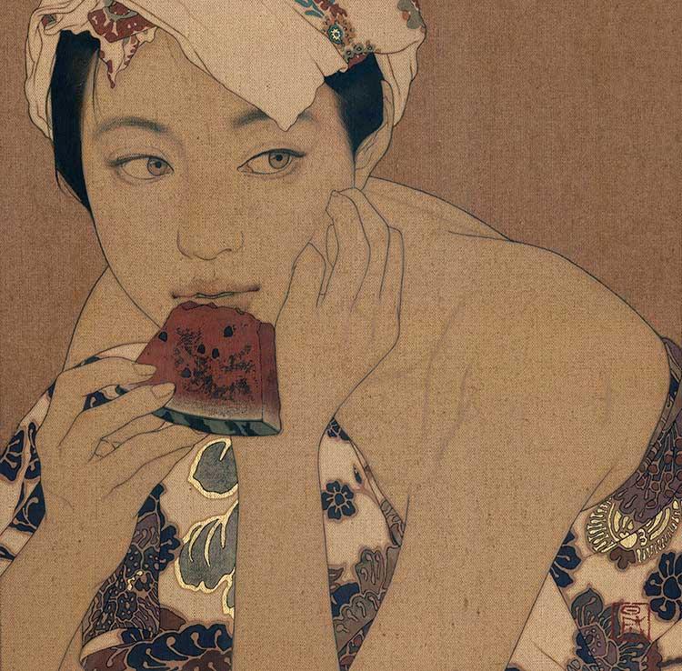 「水瓜・樹子」 ©IKENAGA YASUNARI