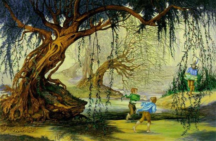 La Naturaleza en J.R.R. Tolkien y Hayao Miyazaki El hombre sauce