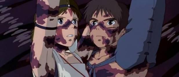 Lepra en Mononoke Hime