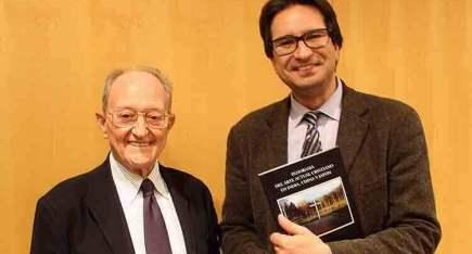 David Almazán junto a Fernando García Gutiérrez