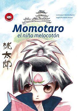 Portada de «Momotaro, el niño melocotón», de Satori Ediciones.