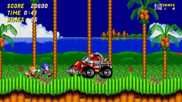 Sonic y Miles (Tails) Prower se enfrentan al malvado Doctor Ivo Robotnik/Eggman en Sonic The Hedhehog 2.