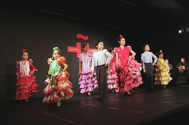 Flamenco en el día E