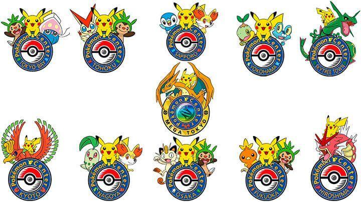 Sellos Centro Pokémon