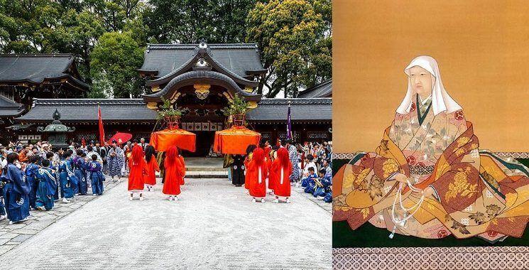 Imamiya jinja y Keishoin
