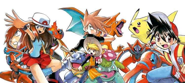 Ilustración de Yamamoto para Pokémon Special
