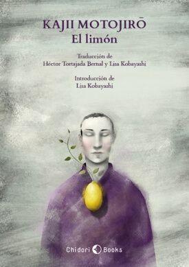 Portada de David González para «El Limón», de Kajii Motojirō. Chidori Books