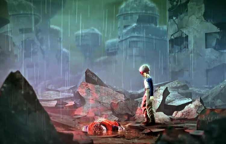 Trunks rememorará, junto a los jugadores, una de las escenas más tristes y emotivas de su pasado, la pérdida de su maestro, Son Gohan, ante los temibles androides creados por el doctor Gero; lo que supondrá el detonante de su personalidad como el valiente Trunks del Futuro que todos conocemos.