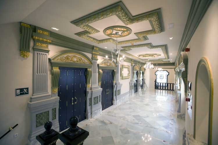 Interior del Teatro Echegaray de Málaga.