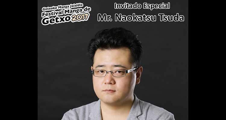 Naokatsu Tsuda invitado a Getxo 2017