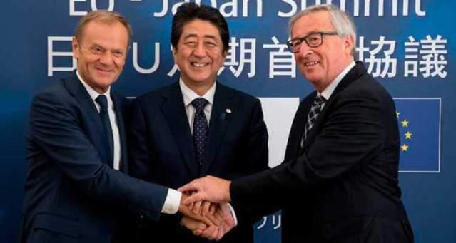 Tratado unión Europea y Japón