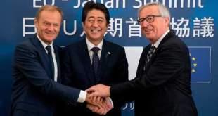Japón y la Unión europea por el libre comercio