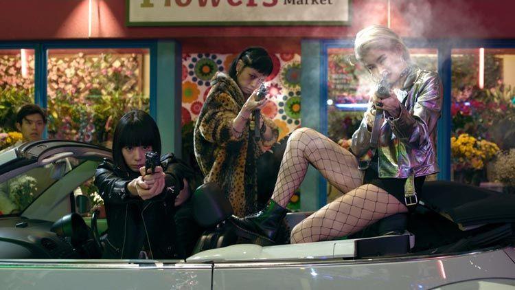 Fotograma de la película de Tokyo Vampire Hotel de Sion Sono
