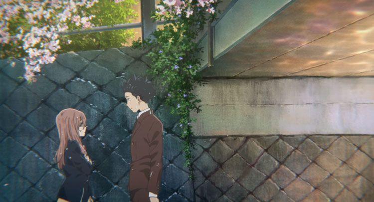 Fotograma de la película de animación A silent Voice de la directora Naoko Yamada.