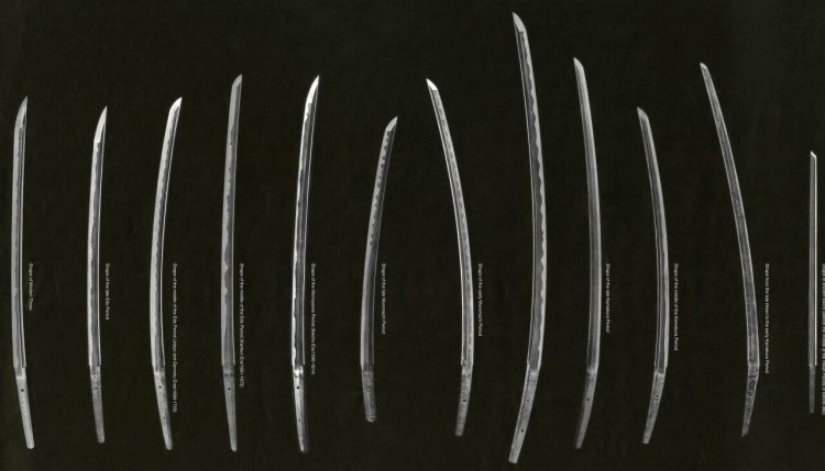Tipologías evolutivas del sable japonés
