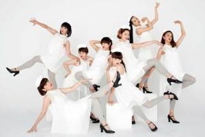 Las bailarinas integrantes del grupo ELEVENPLAY