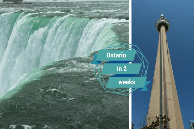 Ontario in 2 weeks