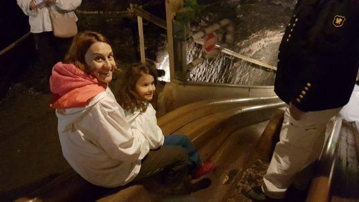 Slides at the Hallein Salt Mine