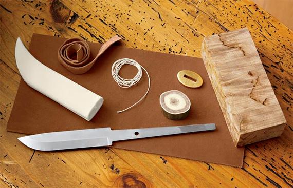 Knife Building Knives Kits