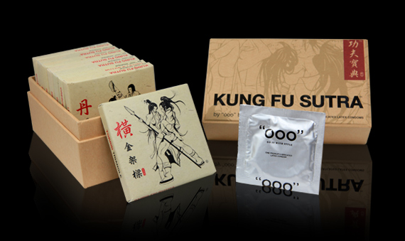 Kung Fu Sutra Condom Pack