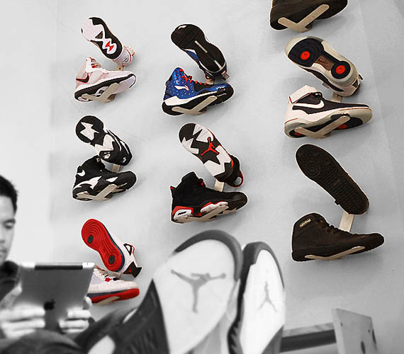 Shrine Sneaker Rack