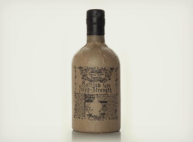 Navy Strength Bathtub Gin Cool Material