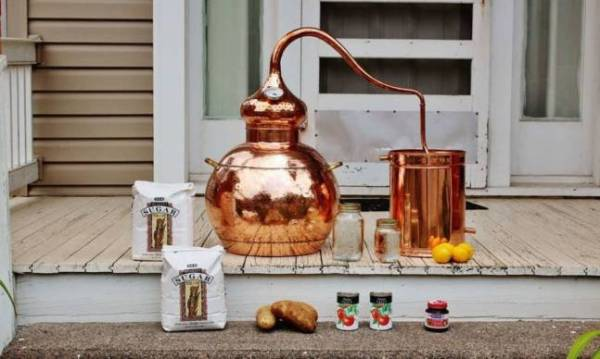 The Home Moonshine Kit   Cool Material