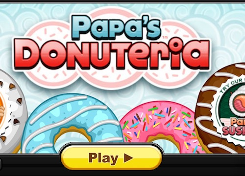 Play Papa's Donuteria - Cool Math Games 4 Kids