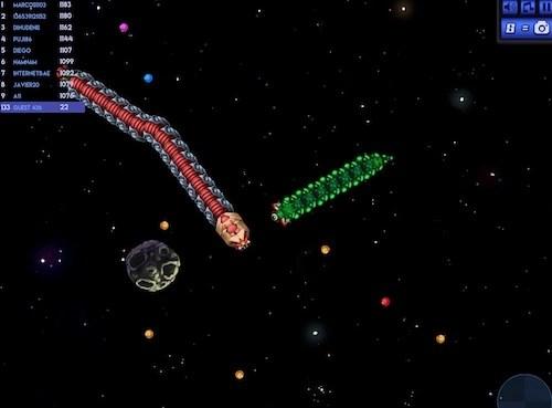 Y8 Space Snake