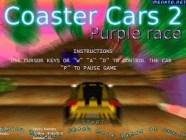 Coaster Cars 2 Purple Race