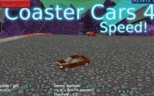 Coaster Cars 4 Speed