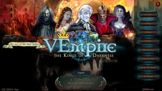 VEmpire - The Kings of Darkness Torrent Download